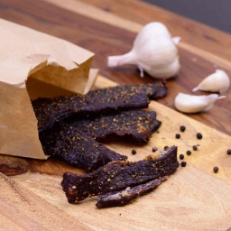 Garlic Black Pepper Beef Jerky