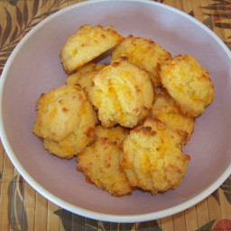 Garlic Cheese Biscuits - Gluten Free