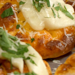 Garlic Cheese Cloud Bread