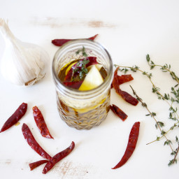 Garlic Chili Infused Olive Oil