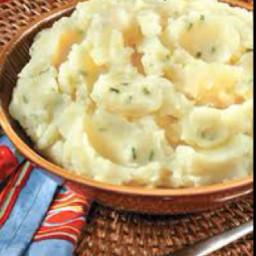 Garlic-Chive Mashed Potatoes
