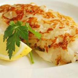 Garlic-Crusted Roughy