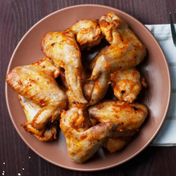Garlic Ginger Chicken Wings