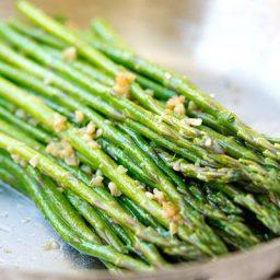 Garlic Herb Butter Sauteed Asparagus