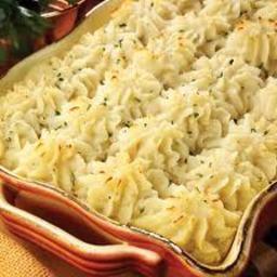 Garlic mashed potatoes from Julia child