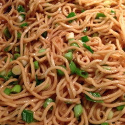 Garlic Noodles with Scallion