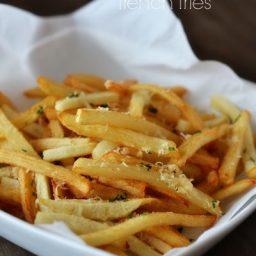 Garlic Parmesan French Fries