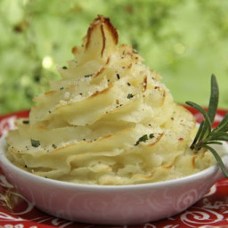 Garlic Parsnip Mashed Potatoes