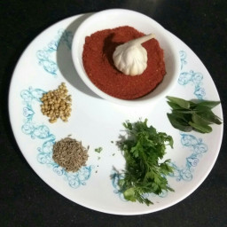 GARLIC RED CHILLI POWDER