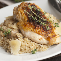 Garlic-roasted Chicken Breasts