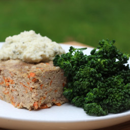 Garlic Rosemary and Parmesan Meatloaf