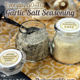Garlic Salt (Plain & Seasoned)