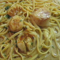 Garlic Scallops