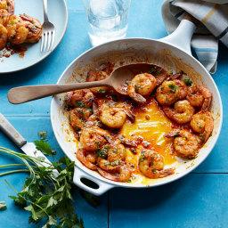 Garlic Seared Shrimp