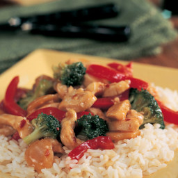 Garlic Turkey-Broccoli Stir-Fry