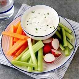 Garlic & chive dip
