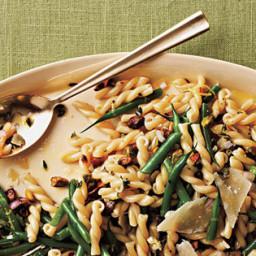 Gemelli Salad with Green Beans, Pistachios, and Lemon-Thyme Vinaigrette