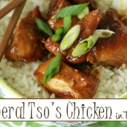 General Tso Chicken in the Crock Pot