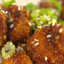 GENERAL TSO'S BAKED CHICKEN