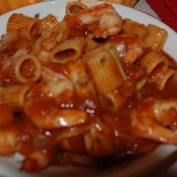 George's Tomato Sauce with Shrimp
