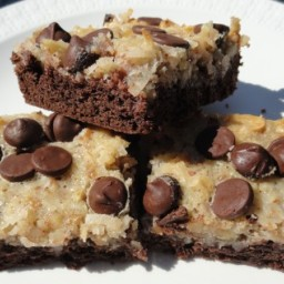 German Chocolate Cake Bars Recipe