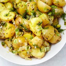 German Potato Salad with Dill