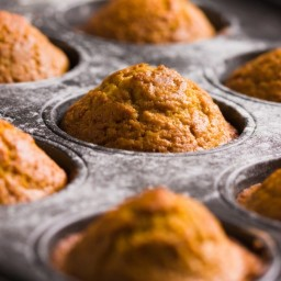 GFCF Pumpkin Cupcakes