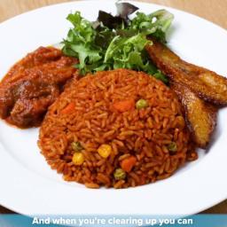 Ghanaian Jollof Rice By Tei Hammond Recipe by Tasty