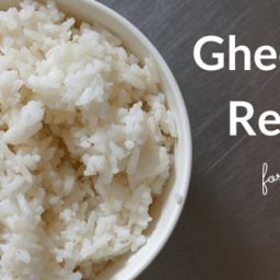 Ghee Rice for Babies