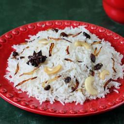 Ghee rice recipe   How to make ghee rice recipe with kurma