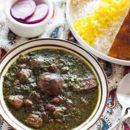 Ghormeh Sabzi - Persian Herb Stew
