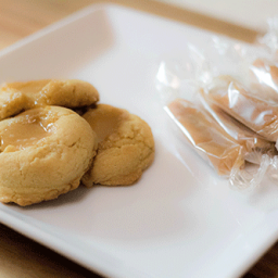 Ghost Pepper Passion Fruit Caramel Cookies