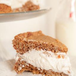 Gigantic Homemade Little Debbie's Oatmeal Cream Pie Cake