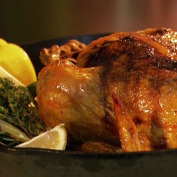 Gina's Perfect Roast Chicken with Gravy