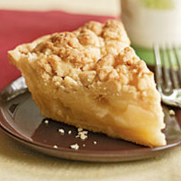 Ginger Apple Crumb Pie