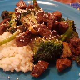 Ginger Beef & Broccoli de Jumilla 91