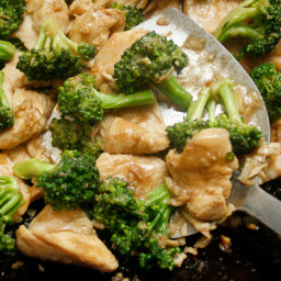 Ginger Chicken and Broccoli Stir-Fry