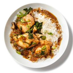Ginger Chicken with Watercress