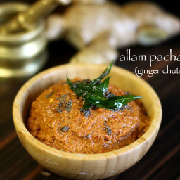 ginger chutney recipe | allam chutney recipe | allam pachadi recipe
