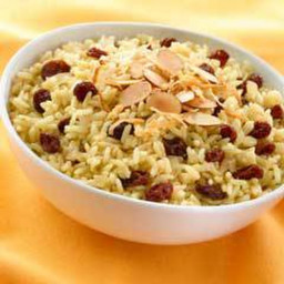Ginger, Coconut and Currant Rice