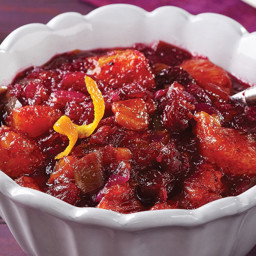 Ginger-Cranberry Chutney
