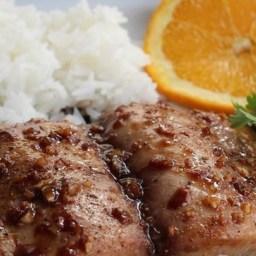 Ginger-Glazed Mahi Mahi