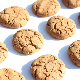 Ginger Peanut Butter Cookies