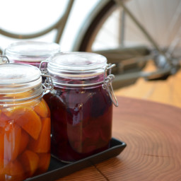 Ginger Pickled Baby Beets