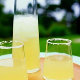 Ginger-Rosemary Lemon-Drop Cocktails