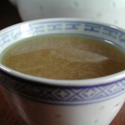 Ginger, Scallion Root Tea Recipe