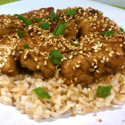 Ginger Sesame Chicken