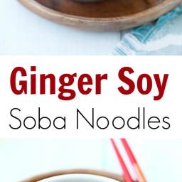 Ginger Soy Soba Recipe