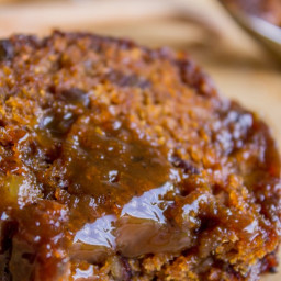 Ginger Sticky Toffee Pudding Cake