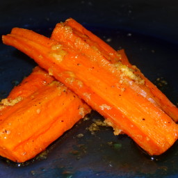 Ginger Sweet Roasted Carrots